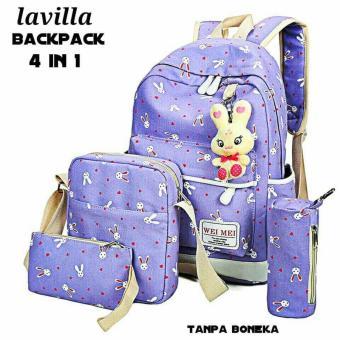 Best Review Of Lestari Fashion Tas Ransel 4in1 Back Pack Wanita Source Tas .