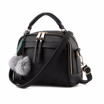 Tas Wanita With Pompom High Quality Korean Elegant Bag Style