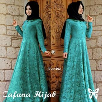 UC Dress Gamis Muslim 2 In 1 Melina   Gamis Fashion Maxi   Syari Brukat  Simple 35dda96bc1