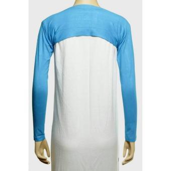 Manset Tangan sambung (bolero) polos - Biru muda