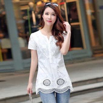Musim Panas Baru Lengan Pendek (Hitam). Source · Korea Fashion .