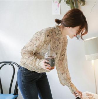 T-shirt Lengan Panjang Wanita Gaya China. Source · Bunga Korea Fashion Style Musim