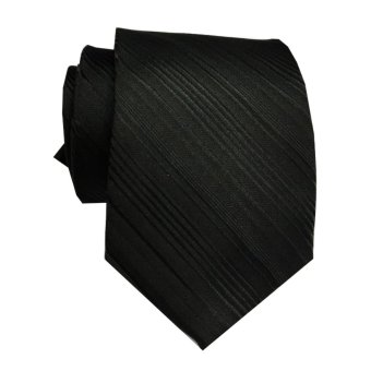 VM Dasi Fashion Slim Hitam - Black Ties