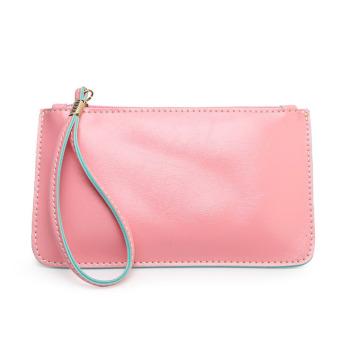 Women Handbag Lady Envelope Clutch Tote Bag Clutch Purse Shoulder Bag Pink- Intl