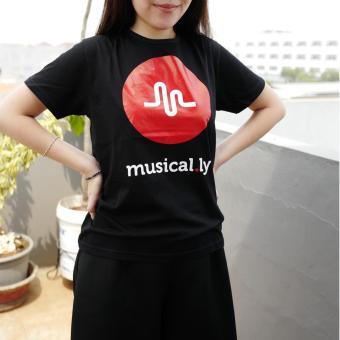 YGTSHIRT - T-shirt MUSICALLY Tumblr Tee Cewek / Kaos Wanita / Tshirt Cewe Cotton