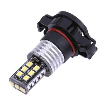 1pc H16 2835 SMD 15 LED Car Light Fog Lamp Bulb DC 12V - intl