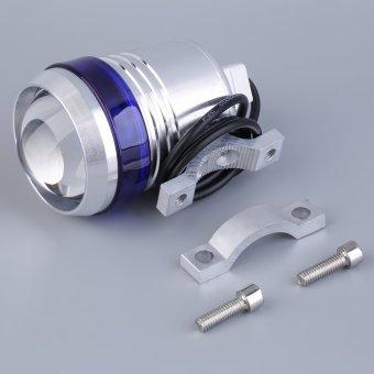 Allwin Sepeda Motor Lampu Angel Eye Memimpin Mengemudi Tempat Lampu Kabut U3 LED 30 Watt Biru