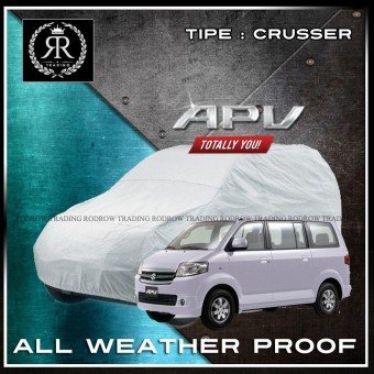 Body Cover / Sarung Mobil / Cover Mobil Suzuki APV polos Silver