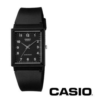 Casio Analog Jam Tangan Wanita - Hitam - Strap Karet - MQ-27-1B
