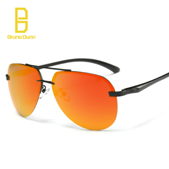 Desainer merek terpolarisasi Magnesium aluminium Wrap matahari pria kacamata  olahraga luar ruangan cermin 3025 kacamata untuk 2b6212d6e3