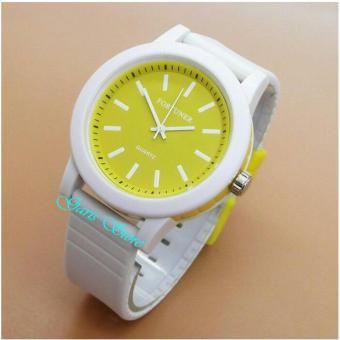 Fortuner jam tangan Pria/Wanita Sporty Rubber Strap