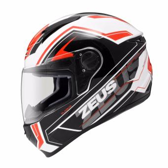 Helm Zeus Fullface ZS-811 White/AL5 Red