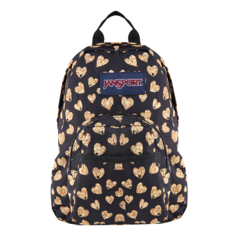 Jansport Half Pint Mini Backpack - Glitter Hearts