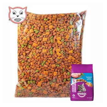 Makanan Kucing Whiskas Cat Food Wiskas Repack 500 Gram