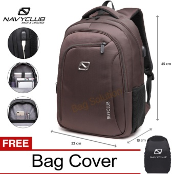 ... Tas Ransel Laptop Tahan Air 8316 Backpack Up to 15 inch Bonus Bag Cover Real Polo ... Source ... 15 Inch Anti Air 5912 - Merah Bonus. Source · Navy Club .