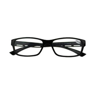 Resin Klasik Retro Vintage Penatua Membaca Kacamata Presbyopic Transparan-Intl