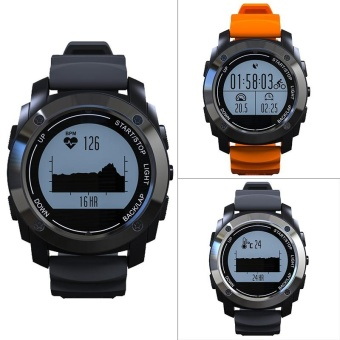S928 GPS Outdoor Pressure Heart Rate Monitor Smart Watch ForAndroid IOS - intl