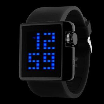 SKMEI Merek Watch 1145 Wanita LED Digital Watch Olahraga Pakaian Busana Kasual Elektronik Jam Tangan
