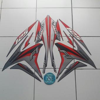 ... Stiker Striping Motor honda vario Techno 125 2014 darkgrey