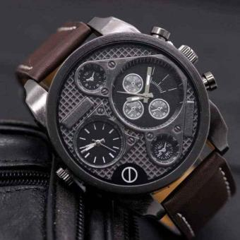 Swiss Army(time) Watch - Jam Tangan Terlaris - Jam Tangan Pria Tali Kulit