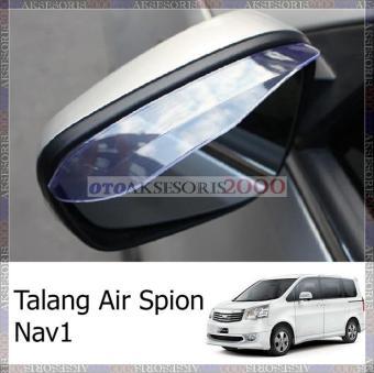 Wiper Mobil Frameless 1 Set Mitsubishi Pajero Sport Free 2 Pcs Talang Air Spion Clear.