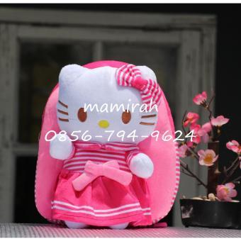 Tas Sekolah Anak Karakter Boneka putri Hello Kitty - Boneka Timbul