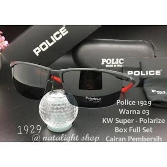 Terbaru Sunglasses Kaca Mata Pria Police P1929 Super Sporty Mewah Polarize  - Kdstr 1f7acad733