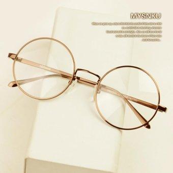 Timely - Gold Frame Retro Round Sunglasses 8890 RG - Kacamata Pria dan  Wanita - Bulat a263cab0ce