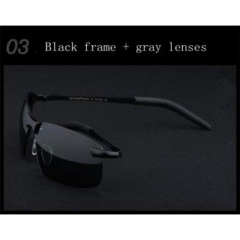 VEITHDIA Merek Polarized Pria Baru Wanita Sunglasses Aluminium Bingkai Kacamata Matahari Mengemudi Eyewear Aksesoris untuk Pria