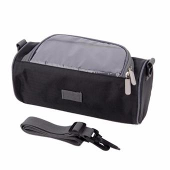 Waterproof Motorcycle Bike Bags Multifungsi / Tas Motor dan Sepeda Anti Air Serba Guna - Hitam