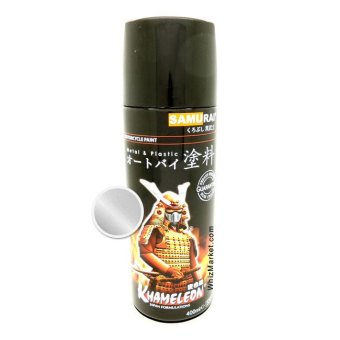 Whiz Samurai Automotive Motorcycle Car Paint - Cat Semprot MotorMobil Spray Aerosol Paint - Decorative Chrome C018**