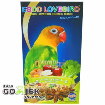 WiyadiStore - Makanan pakan Burung Ebod Lovebird Milet Harian -Kotak