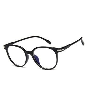 Wanita Tontonan Kacamata Optik Kacamata Clear Lens Komputer Anti-radiasi Kacamata-Intl