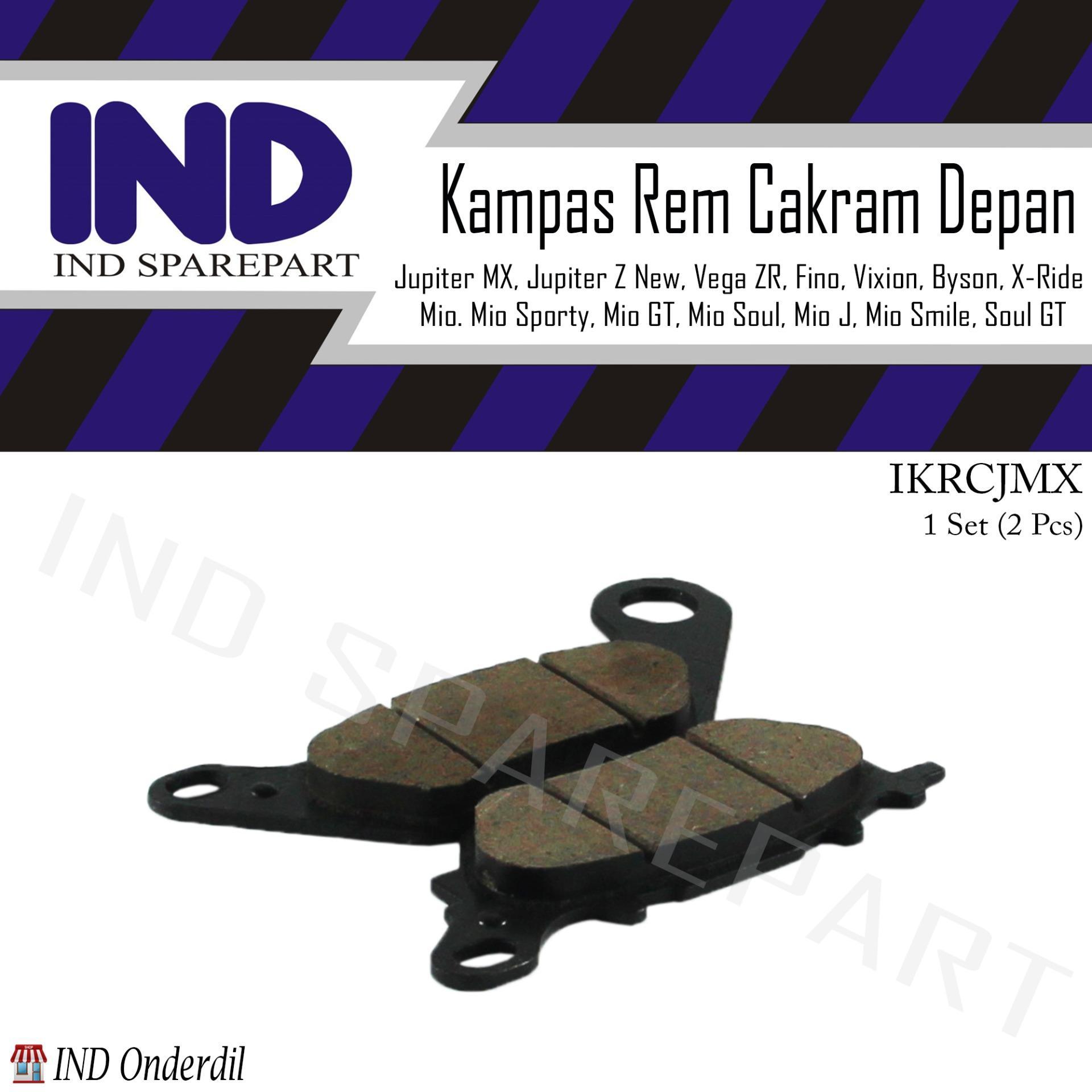 Kampas-Kanvas Rem Depan-Cakram-Discpad-Pad Jupiter MX-135/Vega ZR-R New/Vixion Lama-New/Byson/Jupiter Z New - Blanja.com