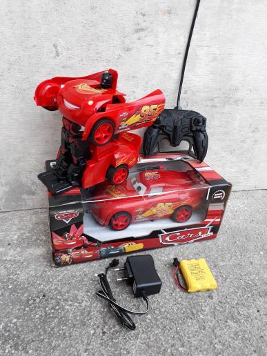 RC CAR TRANSFORMER POLICE - MOBIL ROBOT POLISI REMOTE CONTROL ANAK CAS