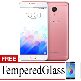 Best Seller Aircase Ultrathin For meizu m3 note + Free Tempered Glass - Red Clear