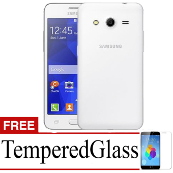 Best Seller Aircase Ultrathin For Samsung Galaxy Core 2 / G355H+ Free Tempered Glass - Clear