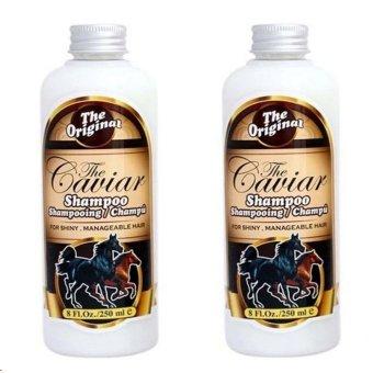 Shampo Caviar- Shampo Kuda - Penyubur Rambut - Sudah BPOM - 250 ml - 2 Botol