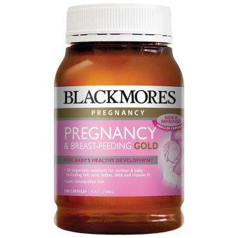 Pregnancy & Breast-Feeding Gold Untuk Ibu Hamil & Menyusui - 180 kapsul