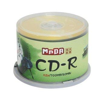 MNDA CD-R 700MB/80-Minute 1-52x Data CD-R Media 50Disc Tape wrap (Intl)