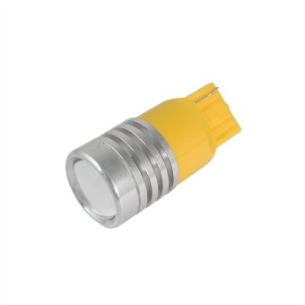 MENGS® T20 3W LED Car Light For Anti-Fog Light / Reversing Light / Brake Light / Tail Light In Yellow