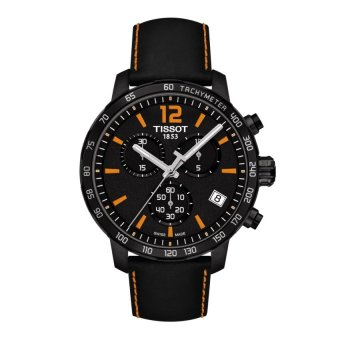 harga Tissot Original T-Sport Quickster Chronograph T095.417.36.057.00 Men's Watch - Black Lazada.co.id