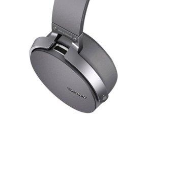 Sony MDR-XB950BT Bluetooth Extra Bass Headphone - Abu-abu