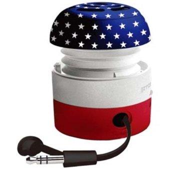 Go-Rock American Mini Speaker TRMS02MA - Multi-Color