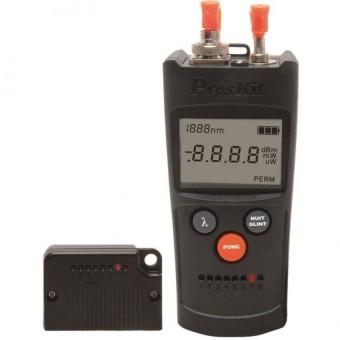 Pro'sKit MT-7602-C 4 in 1 Fiber Optic Power Meter Laser Fiber Optic Tester Optical Fiber Network Cable Tester - INTL
