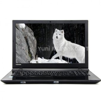 Toshiba C55 Series - Core I3 5005M - RAM 4 GB - HDD 500 - Win 10 Ori - Hitam