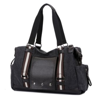 SimpleHome 2016 Hot Retro Fashion Canvas Shoudler Messenger Bag, Handbag, Men Women Bag, Satchels 3 Colors Brown (Intl)