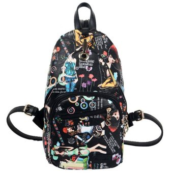 Backpack bag women's chest bag with multiple bags of leisure fashion backpack student bag - Intl