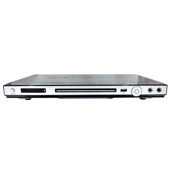 Crystal DVD Player 315 Series - Silver-Hitam