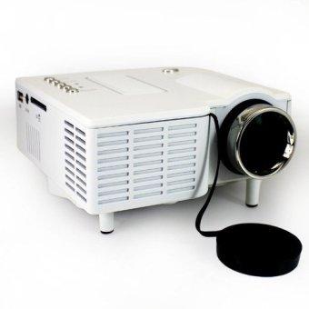 HDMI LED Portable Mini Projector (White) - Intl